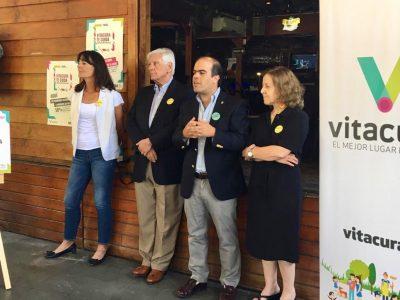 Vitacura y SENDA lanzan campaña para eliminar venta de alcohol a menores de edad
