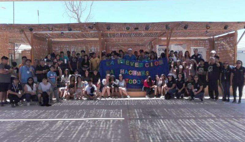 Estudiantes participan en cierre anual de programa Actuar a Tiempo