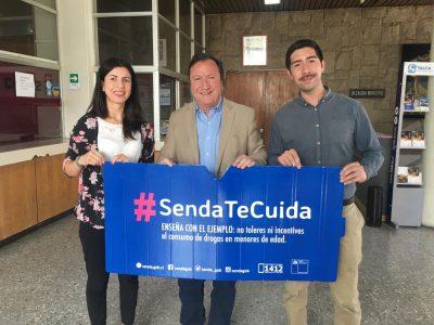 """SENDA Previene Talca se encuentra difundiendo campaña de verano """"SENDA Te Cuida"""""""