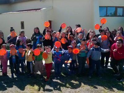 La campaña SENDA TE CUIDA llegó hasta los Centros de Vacaciones, CEVAS, de Punta Arenas