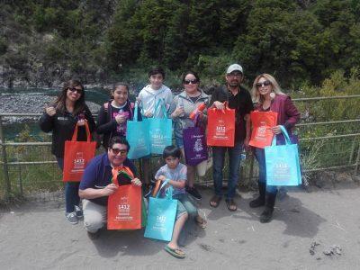 Promueven campaña de verano #SendaTeCuida en Saltos de Petrohué y Puerto Octay