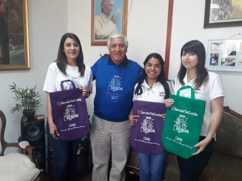 SENDA Previene Cauquenes inició campaña de verano con el alcalde de la comuna