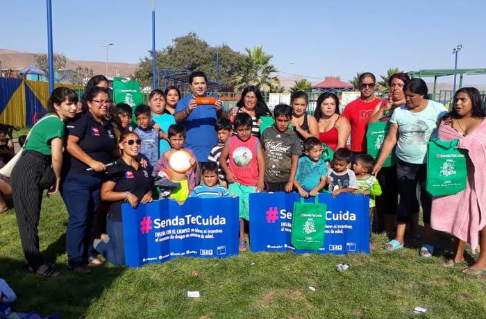 Campaña de SENDA promueve comunicación entre padres e hijos para evitar consumo de drogas