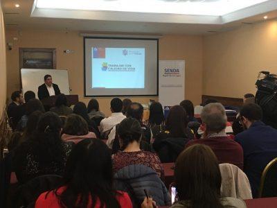 SENDA Los Lagos invita  organizaciones públicas y privadas a postular a programa Trabajar Con Calidad de Vida