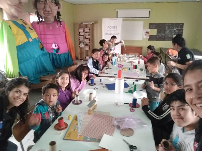 SENDA Previene Puerto Montt realiza talleres preventivos de verano