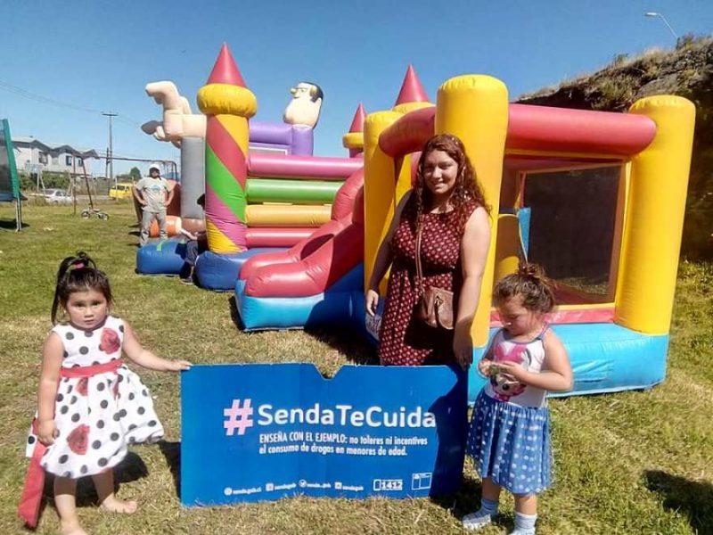 SENDA Previene Ancud entrega  mensajes preventivos en barrios de la comuna