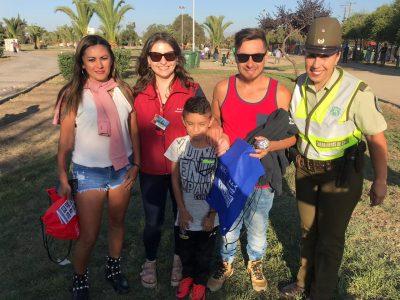 SENDA Previene Talagante participa en Festival de Verano 2019, entregando orientaciones a más de 300 jóvenes