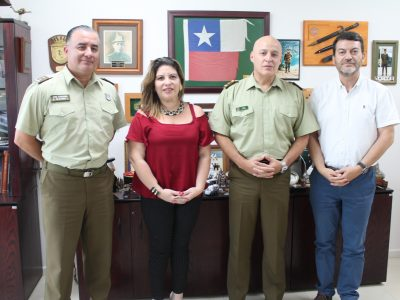 SENDA ATACAMA SOSTUVO IMPORTANTE REUNIÓN CON GENERAL DE CARABINEROS PARA POTENCIAR OPERATIVOS EN CONJUNTO