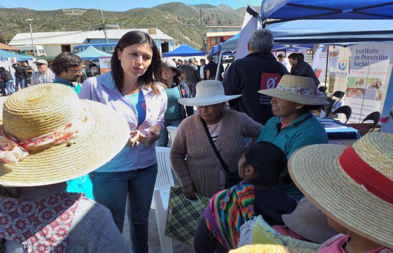 SENDA participó en primera plaza ciudadana en la comuna de Putre