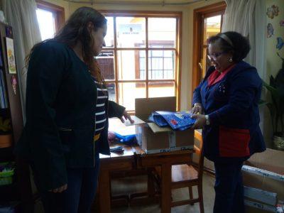Colegios y Liceos de Magallanes ya cuentan con materiales del Continuo Preventivo Escolar para iniciar su implementación