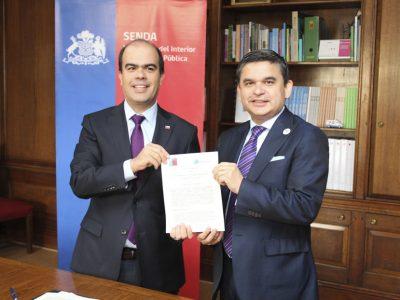 SENDA FIRMA CONVENIO CON EL CONSEJO PARA LA TRANSPARENCIA EN MATERIAS DE PROBIDAD