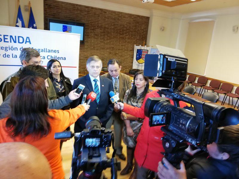 Intendente de Magallanes anunció inicio del uso de narcotest a conductores en la región