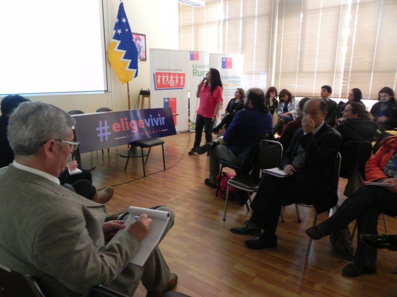 Educadores fortalecieron sus competencias para prevenir el consumo de drogas en colegios y liceos de Punta Arenas