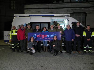 296 controles preventivos a conductores se realizaron este fin de semana en Punta Arenas