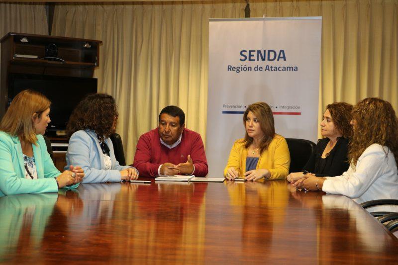 SENDA y SERNAGEOMIN buscan estrechar lazos para instalar una cultura preventiva en empresas mineras