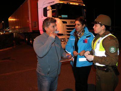 Comenzaron las fiscalizaciones con el dispositivo narcotest en La Araucanía