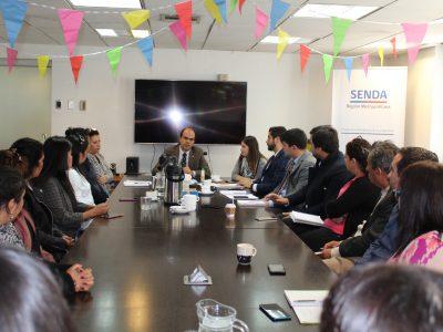 Director Nacional de SENDA participó en la primera sesión del año del COSOC de la región Metropolitana