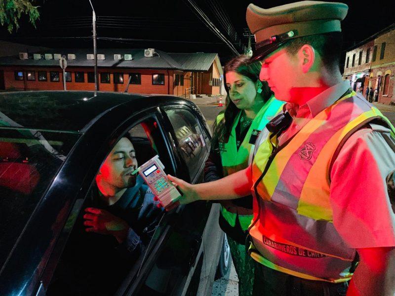 Senda Araucanía ha realizado más de 4 mil controles Cero Alcohol