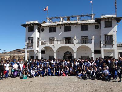 SENDA Apoya a Liceo La Portada que cambia escenario pedagógico trasladando 300 estudiantes a ex Oficina Salitrera Chacabuco