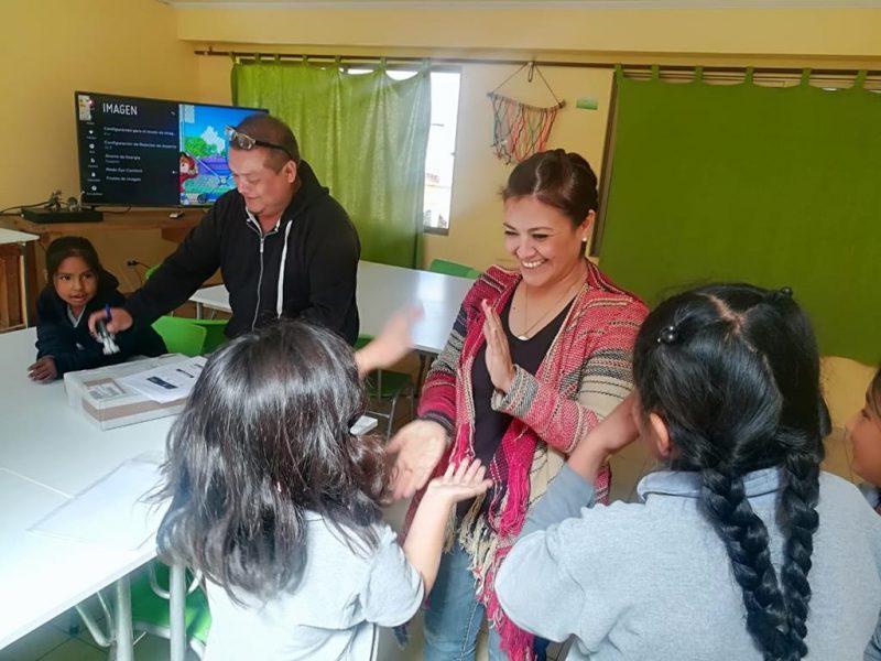 17 escuelas rurales recibieron material preventivo de SENDA