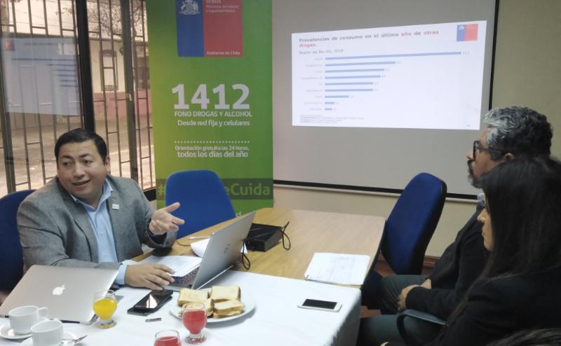 Biobío presenta su Primer Estudio sobre el Consumo de Alcohol y otras Drogas en Población de Educación Superior