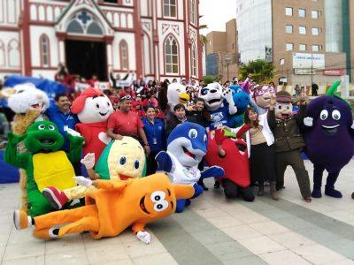 Emblemáticos personajes se la jugaron por la Prevención en Arica