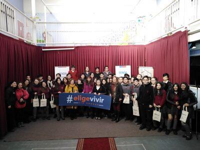 """Lanzan en la región Concurso """"Mi Colegio Elige Vivir Sin Drogas"""""""