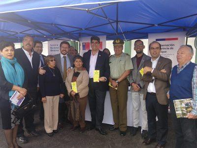 DIRECTOR NACIONAL DIALOGA SOBRE PREVENCIÓN DE DROGAS CON REPRESENTANTES VECINALES DE IQUIQUE