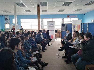 Autoridades regionales conversan sobre drogas con escolares para conmemorar el Día Internacional de la Prevención