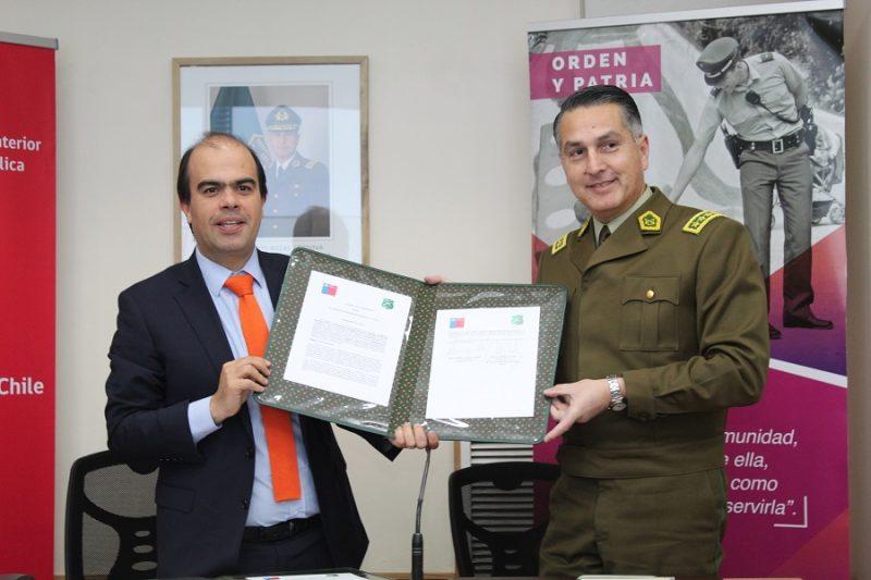 SENDA CAPACITARÁ A CARABINEROS DE CHILE EN MATERIAS DE PREVENCIÓN DEL CONSUMO DE DROGAS Y ALCOHOL