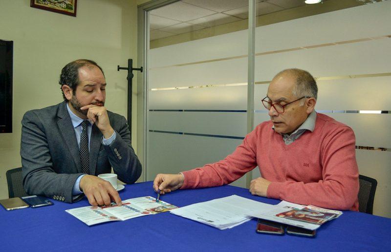 Directores regionales de SENDA y SENCE se reunieron para generar trabajo en conjunto entre ambas instituciones