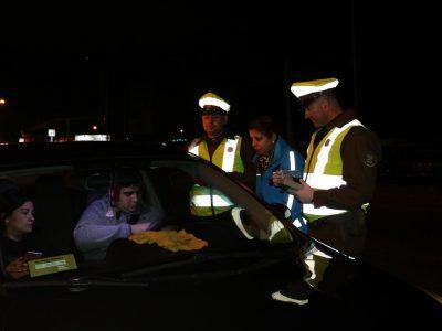 SENDA y Carabineros han realizado más de 8 mil controles a conductores de La Araucanía
