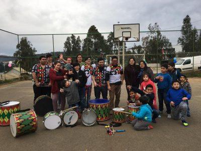"""SENDA y Municipalidad celebraron a niños y  niñas de sector """"Vista al Maule"""" de Constitución"""