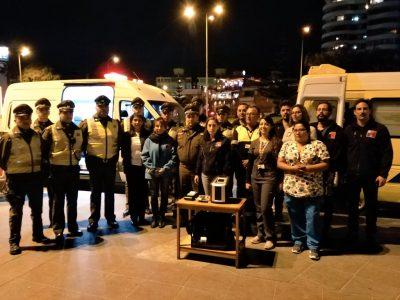 Más de 4 mil controles vehiculares han realizado Senda y Carabineros en Antofagasta
