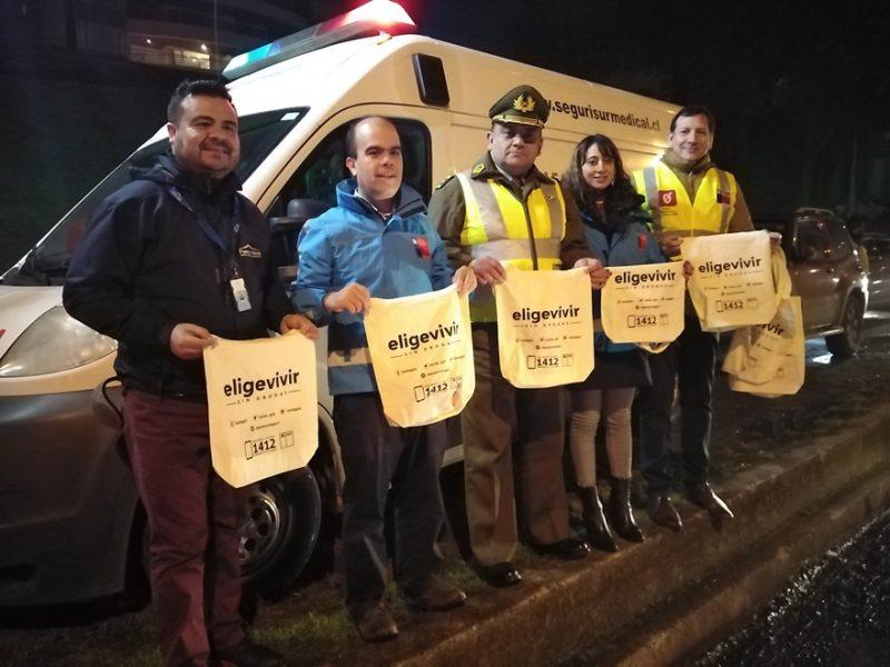 REFUERZAN OPERATIVOS TOLERANCIA CERO EN REGIÓN DE LOS LAGOS