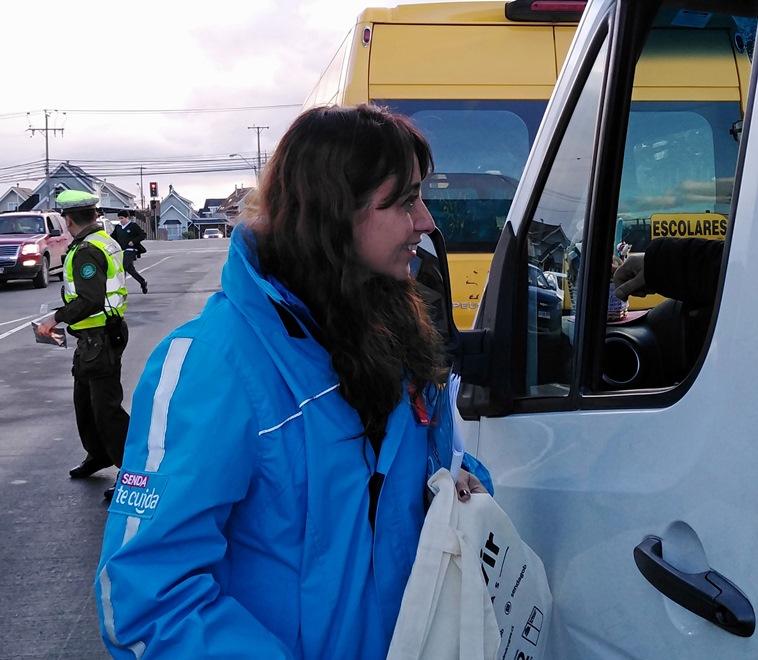 Realizan controles preventivos Tolerancia Cero a conductores de transportes escolares