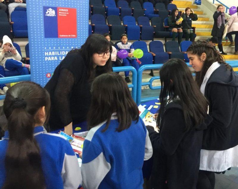 Más de 700 jóvenes asisten a Feria Preventiva en Talcahuano