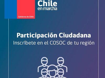 Convocan para ser parte del Consejo de Organizaciones de la Sociedad Civil de SENDA Atacama