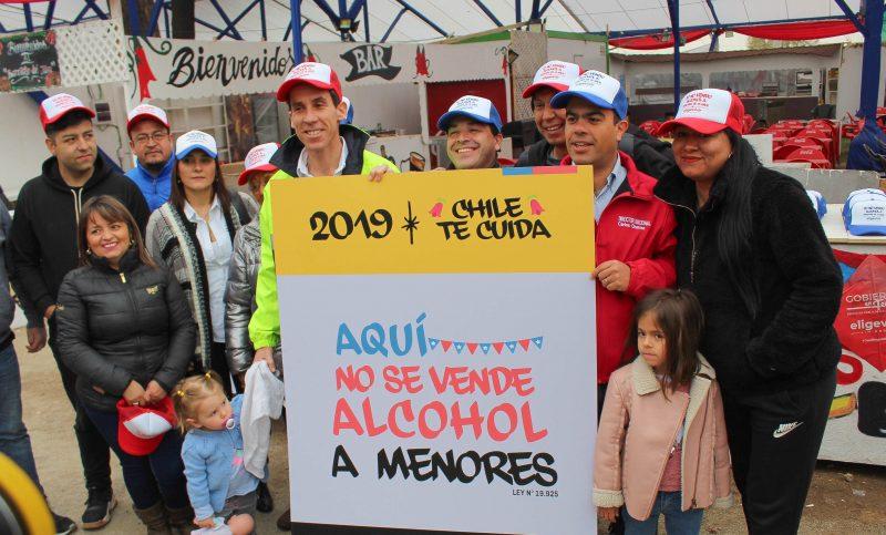 UN18SEGURO: FONDA DEL PARQUE O'HIGGINS SE COMPROMETE A NO VENDER ALCOHOL A MENORES