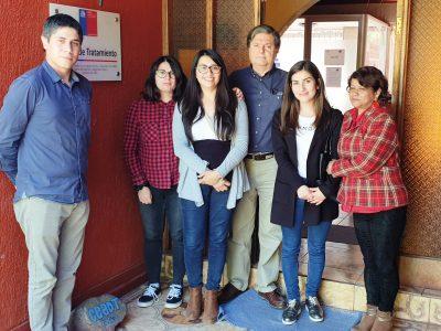 Director Regional visita centros de tratamientos que ayudan a superar consumos problemáticos de alcohol y drogas