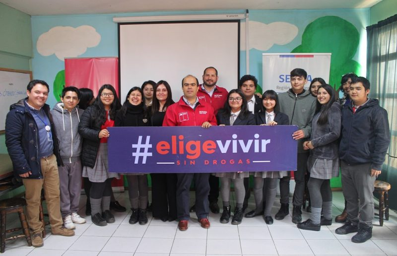 Director Nacional del SENDA visitó colegio rancagüino para conversar con sus alumnos