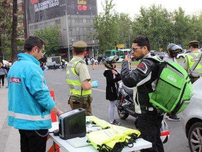 OPERATIVO MASIVO DE SENDA FISCALIZA EN TODO EL PAÍS A CONDUCTORES DE MOTOCICLETAS