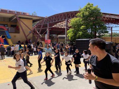SENDA Previene Rancagua festejó junto a la comunidad educativa los 119 años de existencia del colegio Carlos Miranda