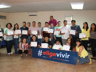 En Arica culmina con éxito primer periodo del programa de Parentalidad