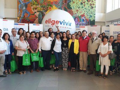 SENDA convocó a organizaciones sociales para fortalecer trabajo preventivo regional