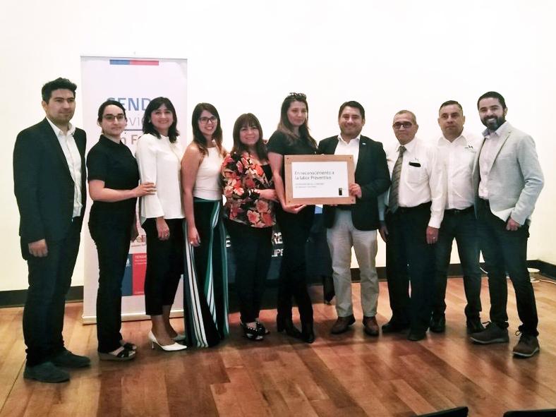 SENDA certificó a Empresa Vera Arcos de San Felipe como espacio laboral preventivo