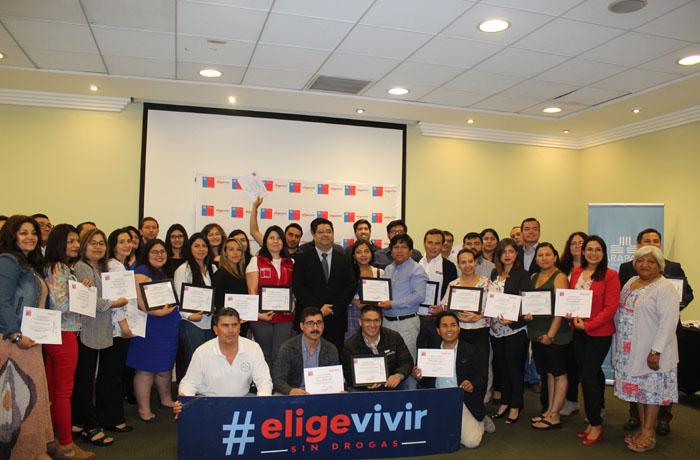 Organizaciones públicas y privadas obtuvieron certificación del programa Trabajar con  Calidad de Vida de SENDA