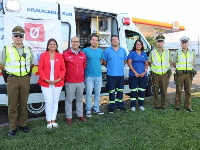Director Nacional de Senda visita La Araucanía y encabeza operativo Tolerancia Cero