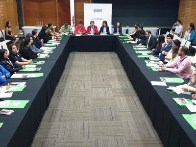 """Primera sesión anual de Mesa Regional de programa """"Elige Vivir sin Drogas""""  convocó a autoridades y representantes del sector público y privado"""