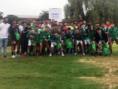 SENDA y Santiago Wanderers trabajan en conjunto para capacitar a los más jóvenes del decano del fútbol porteño